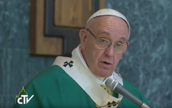 Papa Francesco a Ponte di Nona
