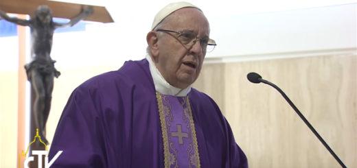 Papa Francesco sul peccato e la corruzione