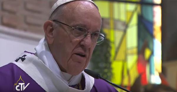 Papa Francesco alla parrocchia di Ottavia