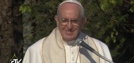 Papa Francesco a Case Bianche