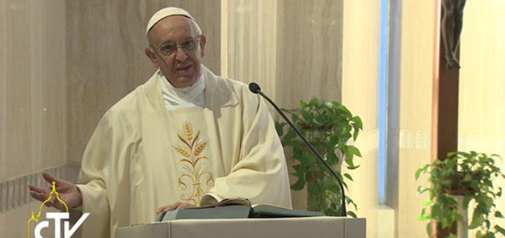 Papa Francesco sulla testimonianza cristiana