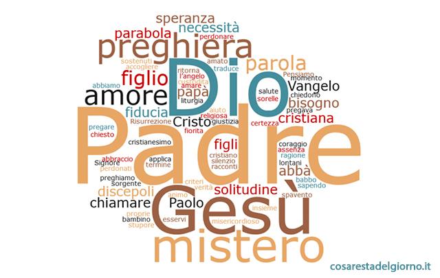 parole Papa Francesco