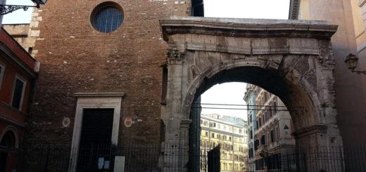 chiesa di San Vito e Arco di Gallieno - Foto Mauro Monti